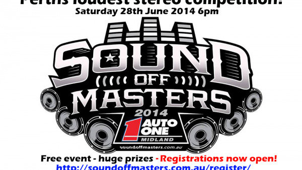 *updated* Auto One Sound off Masters ! Perths loudest Stereo competition