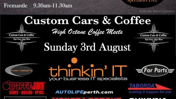 Custom cars and coffee this weekend ! 3rd August 2014