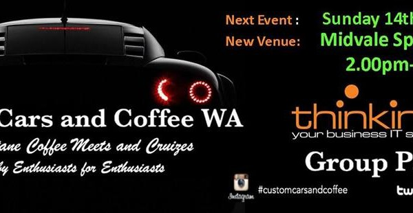 Custom cars and coffee moves to a new venue