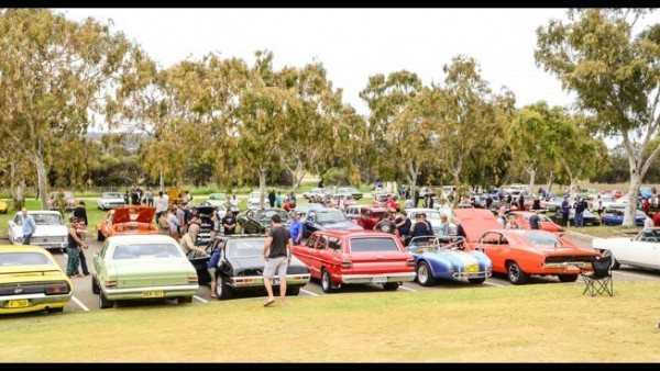 Custom cars and coffee October 2014 meet