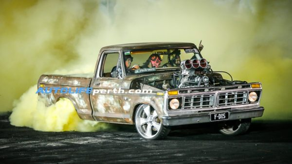 Blown Burnout winner Peter Grumsa