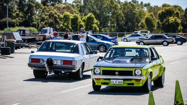 Holden VS Ford – Perth Motorplex – 25th April 2017