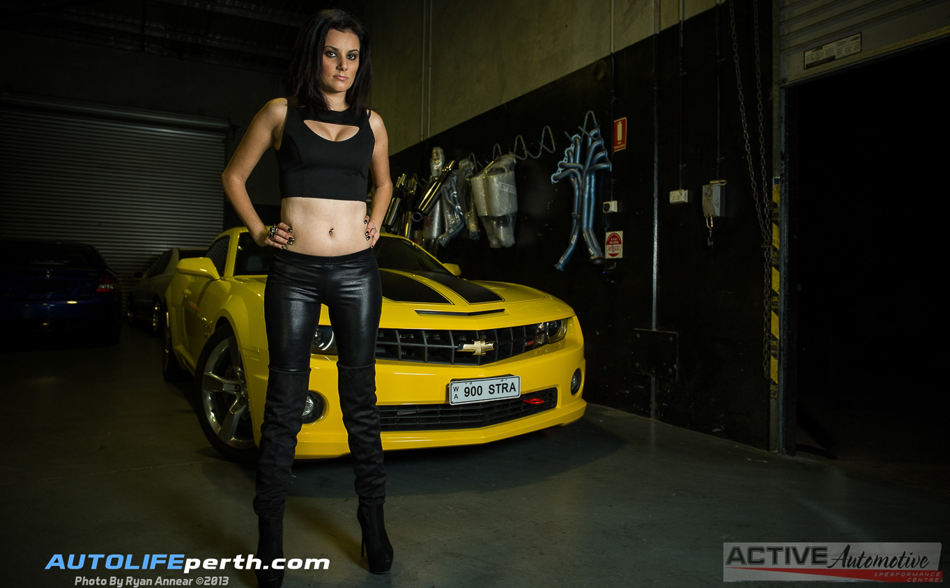 Jilla and the Bee – Camaro Photo shoot