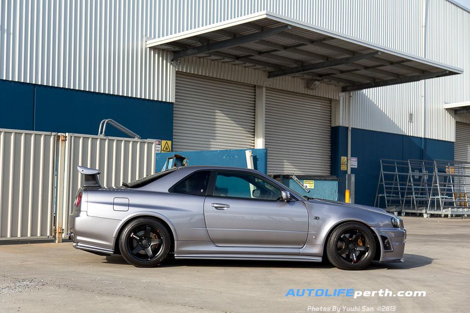 Quicklook – Lyndon's R34 GTR